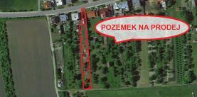 Prodej, pozemek, 1723 m2, Újezdec u Přerova