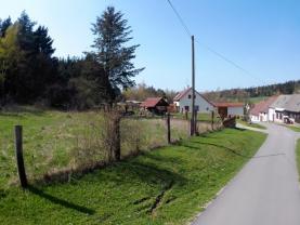 Prodej, stavební pozemek, 1381 m2, Kunžak, Mosty