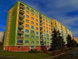 Prodej, byt 2+1, 63 m2, DV, Chomutov, ul. Pod Břízami