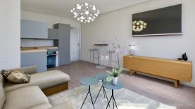 Prodej, byt 2+kk, 52 m2, OV, Praha, ul. Na Maninách