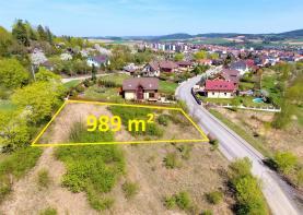 Prodej, stavební pozemek, 989 m2, Sedlčany