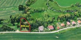 Prodej, stavební pozemek, 999 m2, Ostrovec
