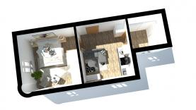 Prodej, byt 2+kk, 35 m2, Trutnov, ul.Šárka