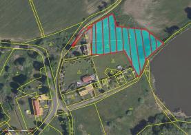 Prodej, stavební parcela, 1500 m2, Měchov-Otročín