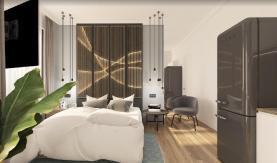 Prodej, byt 1+kk, 32 m2, Praha 10 - Uhříněves