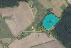 Prodej, stavební pozemek, 39 368 m2, Česká Kubice
