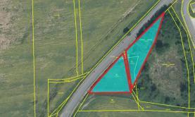 Prodej, travní porost s vodní plochou, 2769 m2, Myslinka