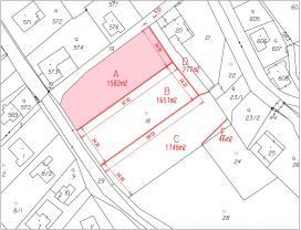 Prodej, pozemek, 1582 m2, Chřibská