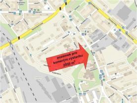 Prodej, komerční pozemek, 2030 m2, Ostrava
