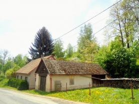 Prodej, rodinný dům - chalupa, pozemek 2150 m2,Trstěnice