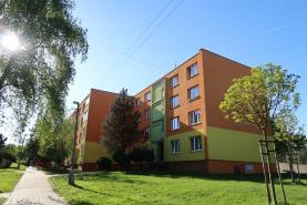 Prodej, byt 1+1, 32 m2, DV, Postoloprty, ul. Jiráskovo nám.