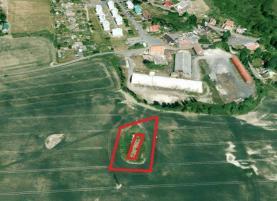 Prodej, stavební parcela 352 m2, Milhostov u Chebu