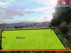 Prodej, orná půda, 6322 m2, Vedrovice