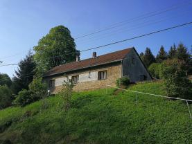 Prodej, rodinný dům 3+1, 439 m2, Jedlová