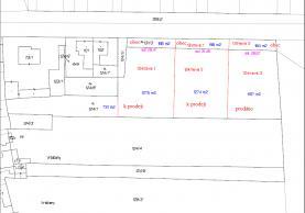 Prodej,stavební pozemek, 1275 m2, Vrbičany