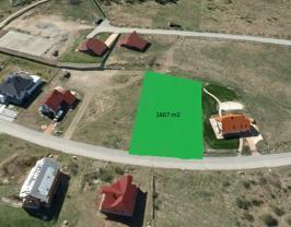 Prodej, stavební parcela, 1667 m2, Trnová u Jíloviště