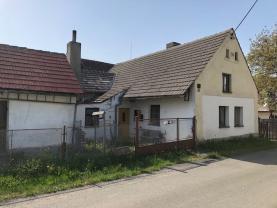 Prodej, rodinný dům, 2+1, 1095 m2, Číčov, Spálené Poříčí