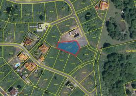 Prodej, stavební parcela, 1036 m2, Jenišov