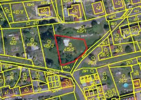 Prodej, Stavební pozemek, 697 m2, Oloví, ul. Horní