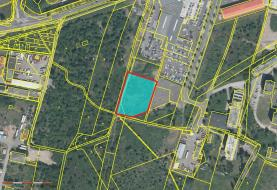 Prodej, komerční pozemek, 4760 m2, Plzeň - Borská pole