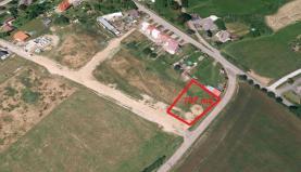 Prodej, stavební pozemek, 707 m2, Žákava
