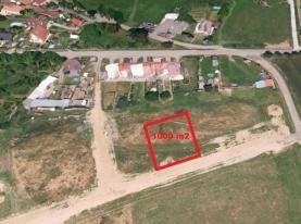 Prodej, stavební pozemek, 1000 m2, Žákava