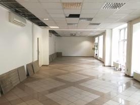 Pronájem, komerční prostor, 124 m2, Ostrava, ul. Nádražní