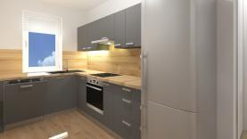 Prodej, byt 3+1, 64 m2, Dymokury