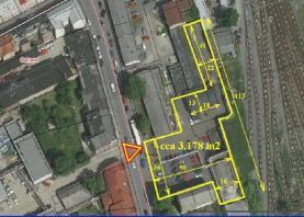 Prodej, komerční pozemek, Moravská Ostrava