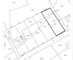 Prodej, stavební pozemek, 1196 m2, Vavřineč