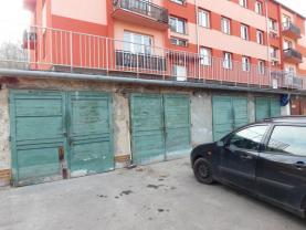Prodej, garáž, 18 m2, OV, Ústí nad Labem, ul. Bří. Čapků