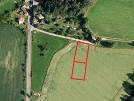 Prodej, stavební pozemek, 2 040 m2, Předslav - Makov