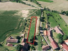 Prodej, pozemek, 2 096 m2, Ostřetice
