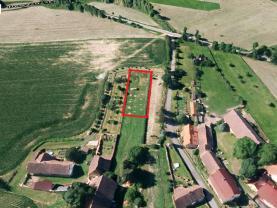 Prodej, pozemek, 925 m2, Ostřetice