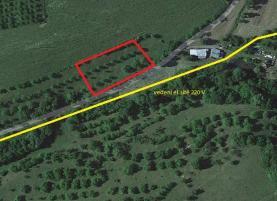 Prodej, stavební pozemek, 800 m2, Jasenná