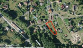 Prodej, stavební parcela, 1257 m2, Dolní Žandov - Cheb