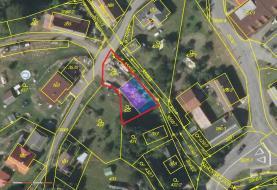Prodej, stavební pozemek, 435 m2, Nekoř