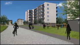 Prodej, novostavba, byt 4+kk , 2 balkony, 113 m2, Rakovník