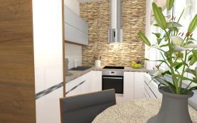 kuchyně-vizualizace (Prodej, byt 3+1, 60 m2, OV, Ústí nad Labem, ul. Bří. Čapků), foto 3/29