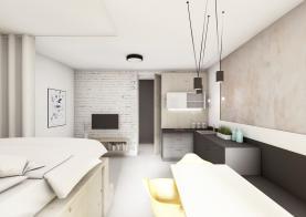 Prodej, byt, 1+kk, 34 m2, OV, Praha 5 - Smíchov