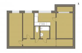 (Prodej, byt 3+1, 68 m2, České Budějovice, ul. Krčínova), foto 2/13