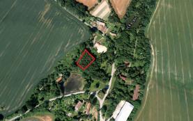 Prodej, stavební parcela, 3911 m2, Kostelec-Lšelín