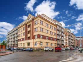 Pronájem, byt 3+kk, 59 m2, Praha 4 - Nusle