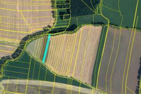 Prodej, orná půda, 2807 m2, Pulice