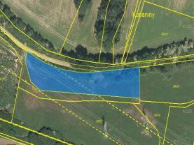 Prodej, pole, 11025 m2, Čebín