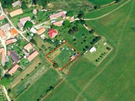 Prodej, zahrada, 1302 m2, Mostek, Dolní Hrachovice