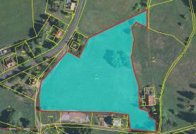 Prodej, pozemek, 14411 m2, Hřebečná, Abertamy