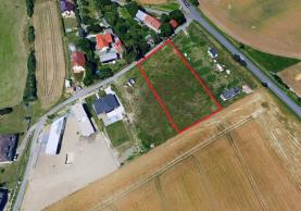 Prodej, stavební parcela, 1506 m2, Chrudim - Vlčnov