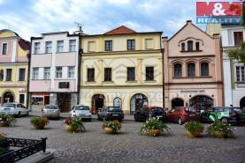 Pronájem, komerční prostory, Litomyšl, Smetanovo náměstí