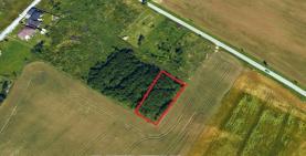 Prodej, stavební pozemek. 1275 m2, Horní Skrýchov